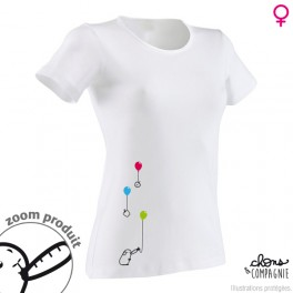 T-shirt ballons